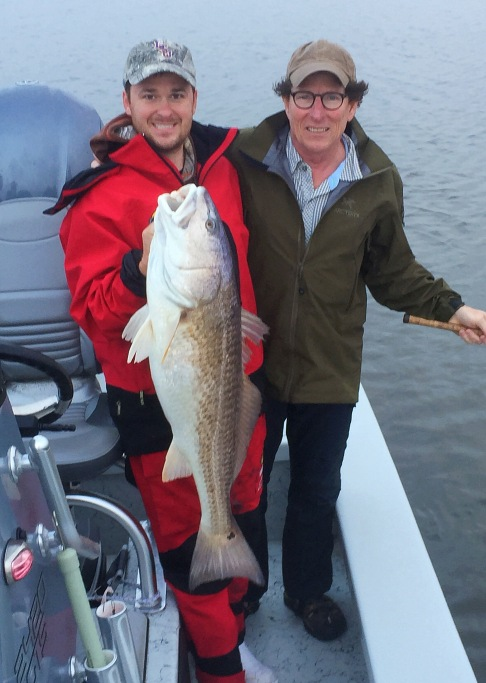 Louisiana Redfish with Dr. Jim Ottea