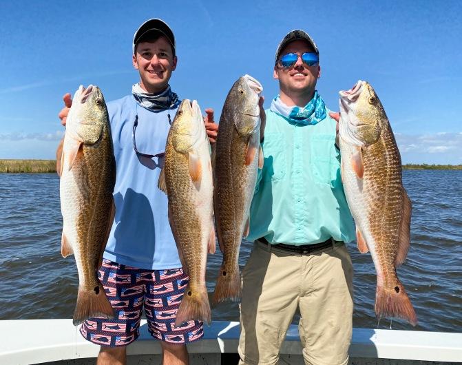 Redfish with Dr. Nathan Lord (LSU Entomology)